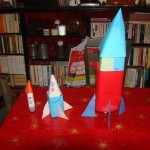 Three prototype rockets