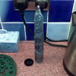Rocket, 35mm film can & gaffer tape